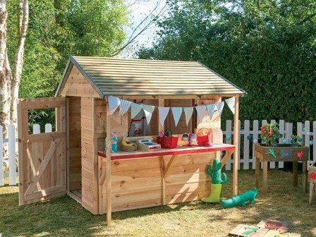 Cabane en bois pour enfant cabane jardin enfant acheter un abri de jardin pour les enfants - Cabane en bois pour jardin ...