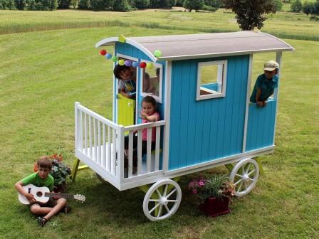 Cabane en bois pour enfant, cabane jardin enfant - Acheter un abri ...