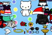 jeu gratuit hello kitty pour les enfants s 39 amuser en. Black Bedroom Furniture Sets. Home Design Ideas