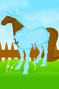 jouer habiller un cheval les jeux pour s 39 amuser avec des animaux jeu pour enfant et jeu de. Black Bedroom Furniture Sets. Home Design Ideas