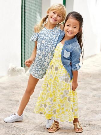 63bdeed46e167 Vêtements fille du 2 au 12 ans, mode enfant printemps été : look ...