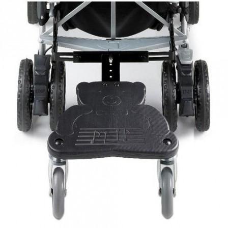 la double marche adapter la poussette de b b une id e astucieuse les indispensables. Black Bedroom Furniture Sets. Home Design Ideas