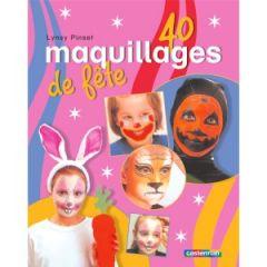livre maquillage apprendre à maquiller un visage d'enfant pour une fête le carnaval un anniversaire