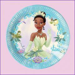 la princesse et la grenouille anniversaire enfant vaisselles jetables et d co la princesse et. Black Bedroom Furniture Sets. Home Design Ideas