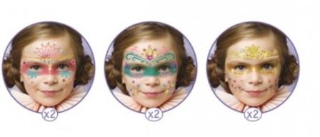 maquillage facile pour le carnaval maquiller le visage d 39 un enfant sans savoir dessiner. Black Bedroom Furniture Sets. Home Design Ideas