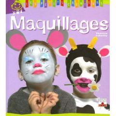 livre maquillage visage enfant anniversaire fête carnal modèle facile à  reproduire maquillage facile enfant