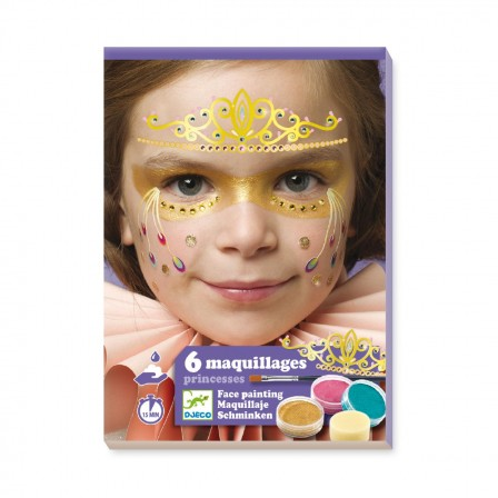 Maquillage facile pour le carnaval maquiller le visage d 39 un enfant sans savoir dessiner - Maquillage princesse facile ...