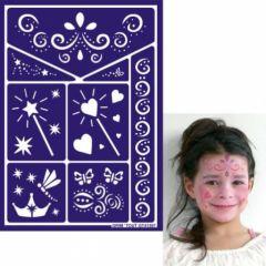 pochoir maquillage fille contes de fées et princesses facile pour maquiller le visage d'une fillette d'une fille 3 ans, 4 ans, 5 ans, 6 ans, 7 ans, 8 ans maquille facile fée fille.jpg