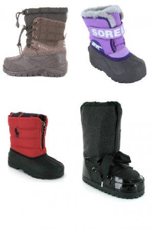 bottes neige fille bottes neige gar on bottes fourr es. Black Bedroom Furniture Sets. Home Design Ideas