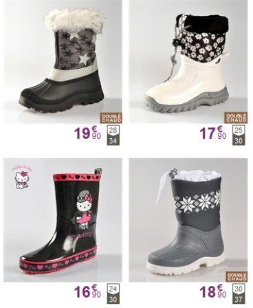 93a3d594fee6b bottes fille neige et pluie pas cher botte caoutchouc bottes fourrées pour  l hiver pour