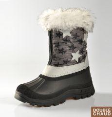 6c5c2aa996b7e chaussures impermeables pour la neige enfant pas cher fourrée confortable chaude  enfant fille ou garçon pas