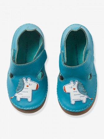 sélection premium bf674 66b4f chaussons en cuir souple pour les petits pieds : Chaussons ...
