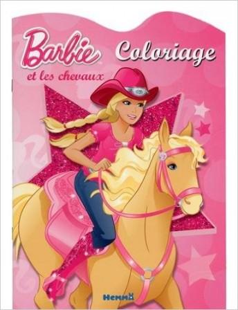 Mot cl jeux colorier jouer - Barbie chevaux ...