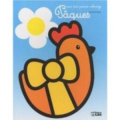 coloriage facile  paques poule cloche livre pour colorier paques petit maternelle acheter coloriages de paques pour enfant.jpg