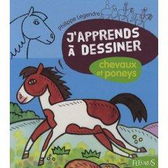 Livre jeunesse apprendre dessiner des chevaux et des poneys aux enfants colorier jouer - Apprendre a dessiner des chevaux ...