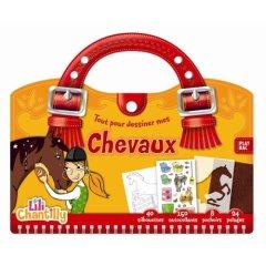 Id e cadeau anniversaire enfant 5 ans la malette pour apprendre aux enfants dessiner des - Apprendre a dessiner des chevaux ...