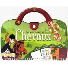 Tout pour dessiner des danseuses apprendre dessiner gr ce la malette lili chantilly - Apprendre a dessiner des chevaux ...