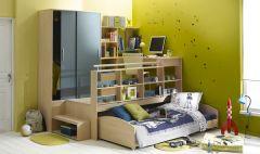 Lit combin chambre ado pour un maximum de gain de place et de rangement chambre compl te for Chambre gain de place