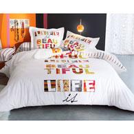 mot cl avec taie d corer. Black Bedroom Furniture Sets. Home Design Ideas