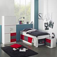 Lit ado lit et mobilier chambre ado lit pour adolescent lit 1 place et 2 p - Chambre junior garcon ...