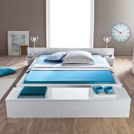 Lit ado lit et mobilier chambre ado lit pour adolescent - Lit adulte rangement integre ...
