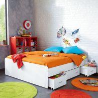 lit ado lit et mobilier chambre ado lit pour adolescent lit 1 place et 2 places pour ado. Black Bedroom Furniture Sets. Home Design Ideas