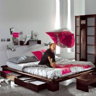 mot cl lit 2 places d corer. Black Bedroom Furniture Sets. Home Design Ideas