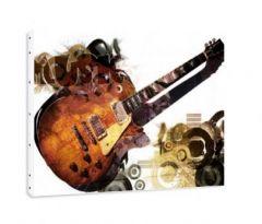 Sticker musique decoration murale avec stickers muraux for Decoration murale guitare