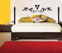 Stickers ados stickers t te de lit d corer et relooker une chambre d 39 - Tete de lit en forme de coeur ...