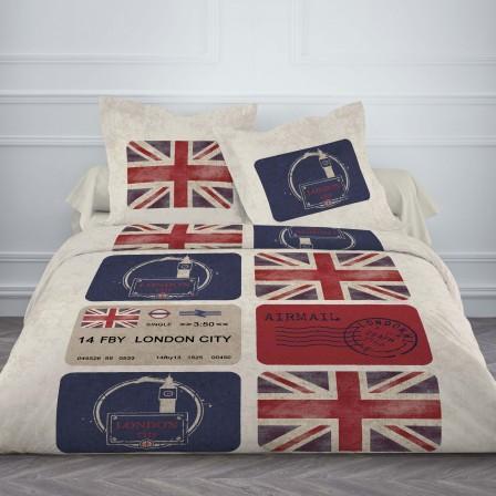 housse de couette ado adolescent linge de lit housse couette parure com. Black Bedroom Furniture Sets. Home Design Ideas
