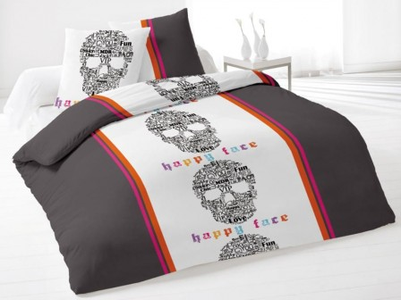 housse de couette ado adolescent linge de lit housse couette parure com. Black Bedroom Furniture Sets. Home Design Ideas