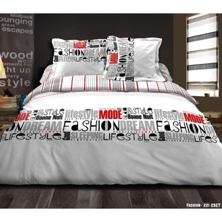 housse de couette ado adolescent linge de lit housse couette parure compl te mode pour. Black Bedroom Furniture Sets. Home Design Ideas
