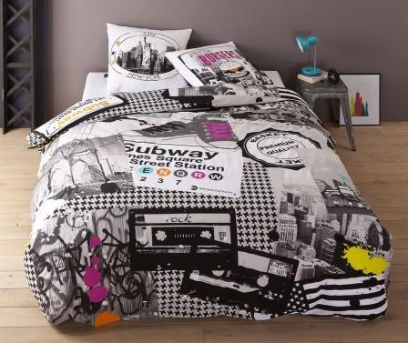pin parure complete blanche noire papil 1633762 100 9046 cdd75 big on pinterest. Black Bedroom Furniture Sets. Home Design Ideas
