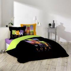 housse de couette douceur pour junior ou chambre d 39 ado. Black Bedroom Furniture Sets. Home Design Ideas