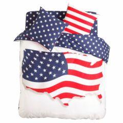 housse de couette pas chere blanche rouge bleu drapeau usa banniere etoilee drapeau us 140 x 200, 200 x 200 et 220 x 240 lit 1 place, lit 2 places.jpg