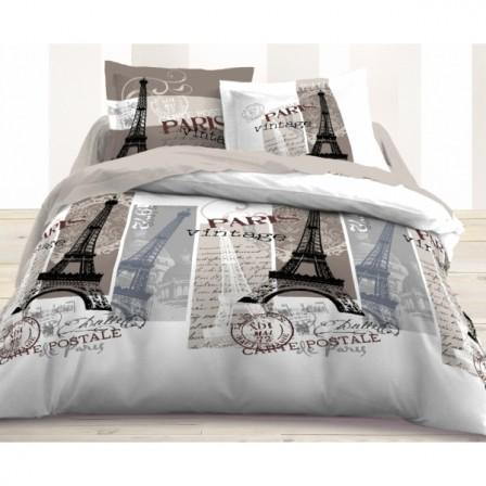 Housse de couette ado adolescent linge de lit housse for Parure de couette 200x200