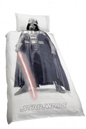 acheter une housse de couette star wars pour enfant pas cher parure de couette star wars 140 x. Black Bedroom Furniture Sets. Home Design Ideas