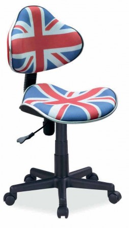 Chaise de bureau london for Bureau ado fille pas cher