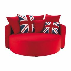 Id e de chambre on pinterest union jack british and london for Fauteuil pour petit salon