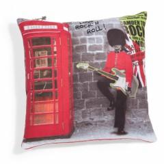 coussin british esprit rock pour deco british chambre salon studio cadeau coussin anglais 40 cm x