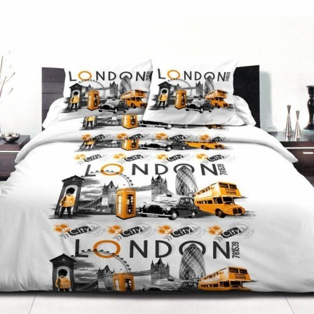 housse de couette londres london linge de lit londres. Black Bedroom Furniture Sets. Home Design Ideas