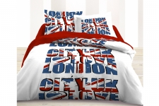 housse de couette londres london linge de lit londres parure de couette londres pour enfant. Black Bedroom Furniture Sets. Home Design Ideas