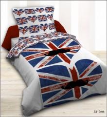 Housse de couette londres, london - Linge de lit londres, parure ...