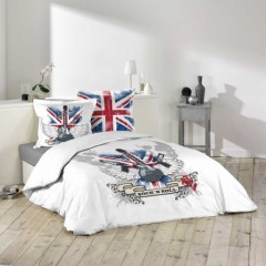 housse de couette londres london linge de lit londres parure de couette l. Black Bedroom Furniture Sets. Home Design Ideas