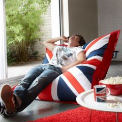 pouf union jack pas cher deco detente anglais angleterre london flag drapeau anglais ao t 2011. Black Bedroom Furniture Sets. Home Design Ideas