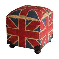 Meubles design salle pouf anglais for Pouf avec drapeau anglais
