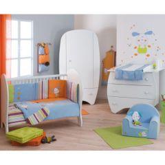 Chambre de b b compl te lit b b armoire b b armoire for Accessoires chambre bebe