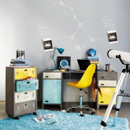 Bureau enfant ado adultes bureau et mobilier pour travailler bureau pas cher bureau pour - Bureau industriel maison du monde ...