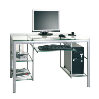 Bureau enfant ado adultes bureau et mobilier pour travailler bureau pas cher bureau pour - Meuble informatique en verre ...