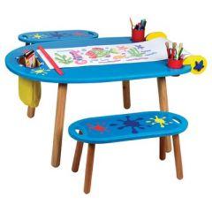 bureau enfant table enfant table de jeu enfant espace de travail et devoir enfant table d. Black Bedroom Furniture Sets. Home Design Ideas
